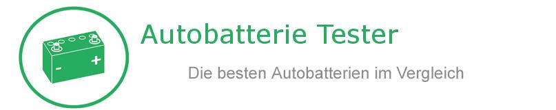 Autobatterie Tester